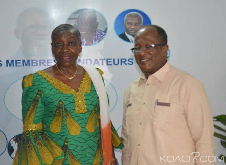 Côte d'Ivoire : En visite chez EDS, Bro Grébé sensibilise  sur le  changement de mentalité des Ivoiriens pour faire advenir la réconciliation vraie