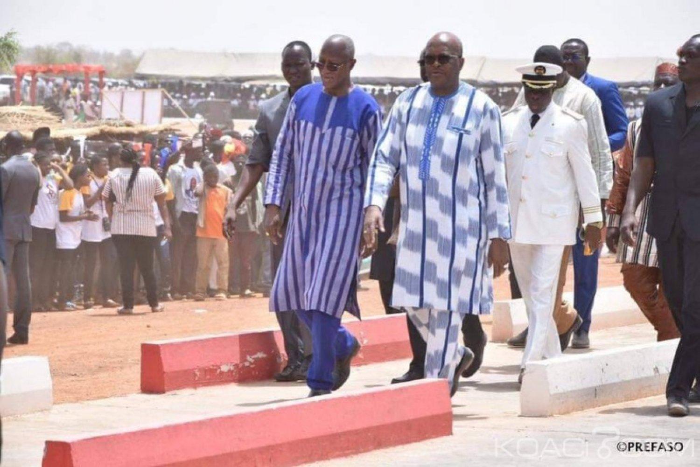Burkina Faso : Inauguration de la route Koupela-Bitou-Cinkansé-frontière du Togo, longue de 150 kms