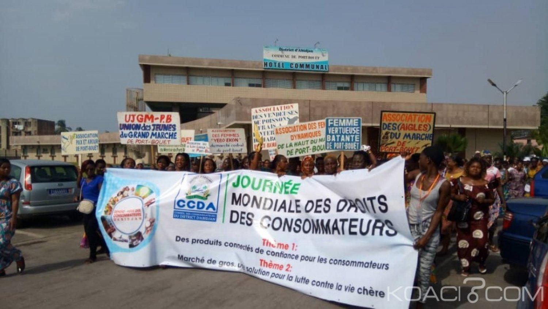 Côte d'Ivoire : Depuis Port-Bouet, le conseil des consommateurs s'insurge contre la vente des produits prohibés sur le marché