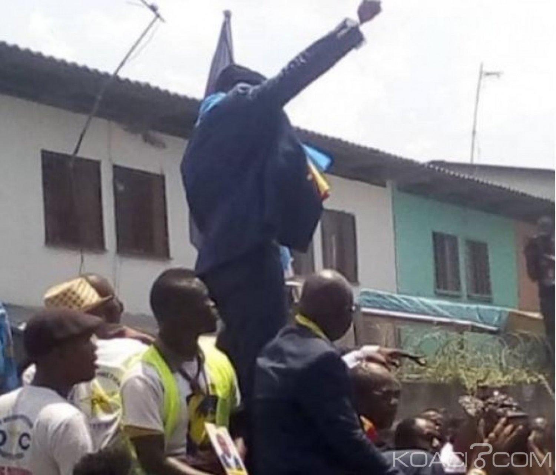 RDC : L' opposant  Eugène Diomi libre mais interdit de  s'approcher d'une école pour filles mineures