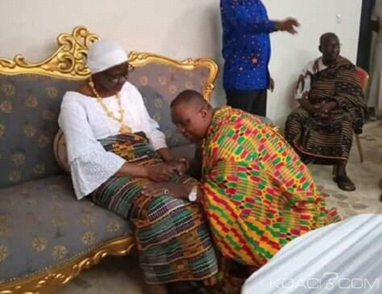 Côte d'Ivoire : Après la déclaration d'une tête couronnée du Gbêkê sur le boycott de sa rencontre, Adjoumani à Sakassou chez la Reine des Baoulés