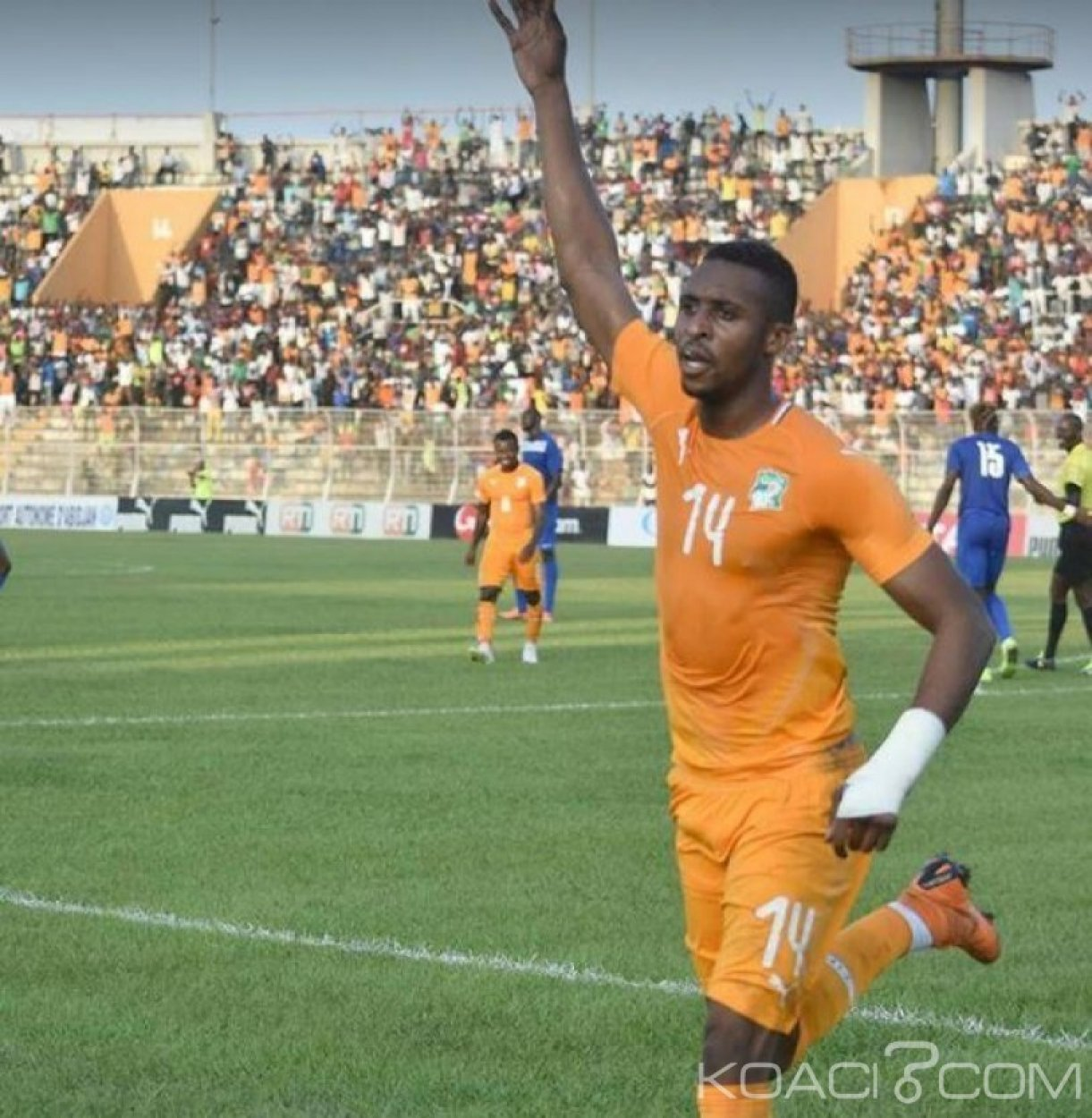 Côte d'Ivoire : CAN 2019,  pour son premier match au Felicia, Kodja veut  démontrer aussi au public abidjanais qu'il a  des qualités
