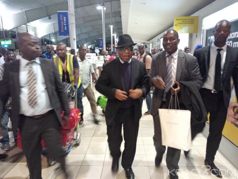 Côte d'Ivoire : Après la sortie d'Affi ce jour, Assoa Adou rentre en urgence à Abidjan