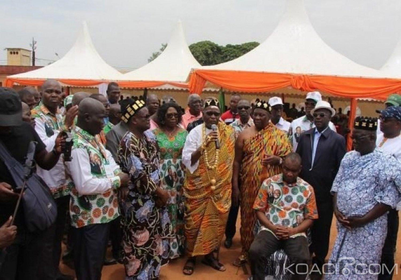 Côte d'Ivoire : Pour ratisser large dans sa région, Louis Habonouan investi coordonnateur de Sur les Traces d'Houphouët-Boigny pour le Gbêkê