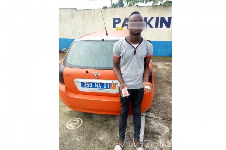 Côte d'Ivoire:  Il conduisait avec de la drogue dans son taxi