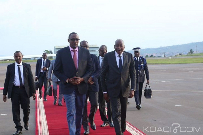Côte d'Ivoire : Gon Coulibaly à Kigali  pour  la 7ème édition de l'Africa CEO Forum