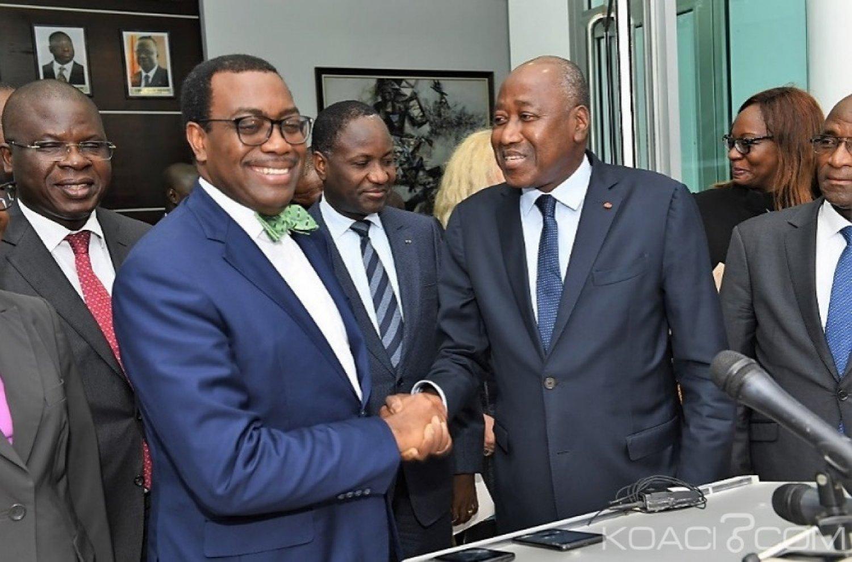 Côte d'Ivoire : La BAD va appuyer le Programme Social du Gouvernement à hauteur de 283 milliards FCFA