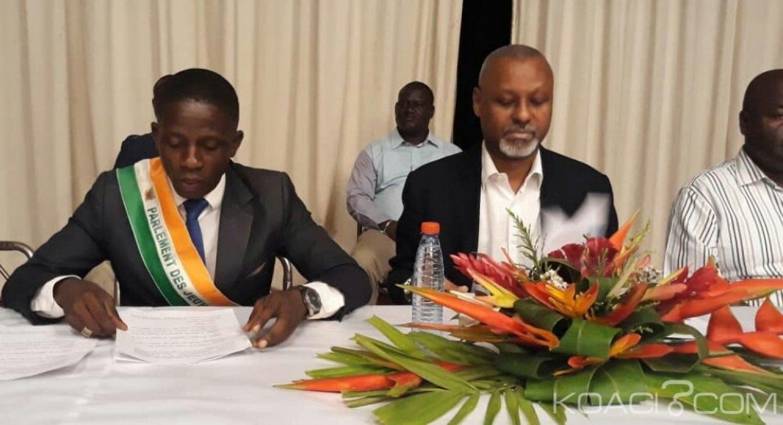 Côte d'Ivoire : Renforcement des capacités des parlements de jeunes de la CEDEAO sur les questions relatives au dividende démographique à Cotonou