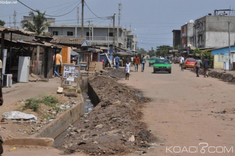 Côte d'Ivoire : Démarrage des travaux de bitumage de la voirie et de pavage des trottoirs de Koumassi