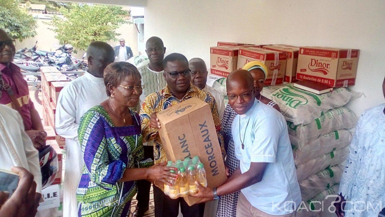 Côte d'Ivoire : Bouaké, à l'occasion du carême chrétien, la mairie aux côtés des fidèles