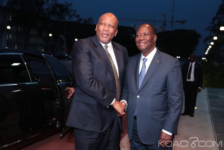 Côte d'Ivoire : Inauguration du CERFAM, le Roi du Lesotho et le directeur exécutif du PAM reçus au palais présidentiel