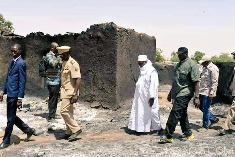 Mali: IBK se rend au village de  Ogossagou après le massacre d'au moins 160 peuls