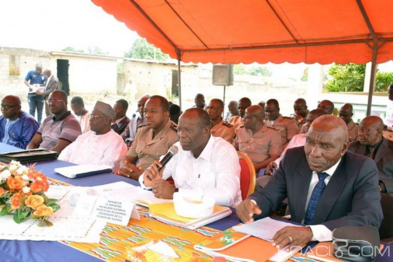 Côte d'Ivoire : Dans le Bafing, Mamadou Sanogo rassure qu'il n'y a aucune division au sein du RHDP