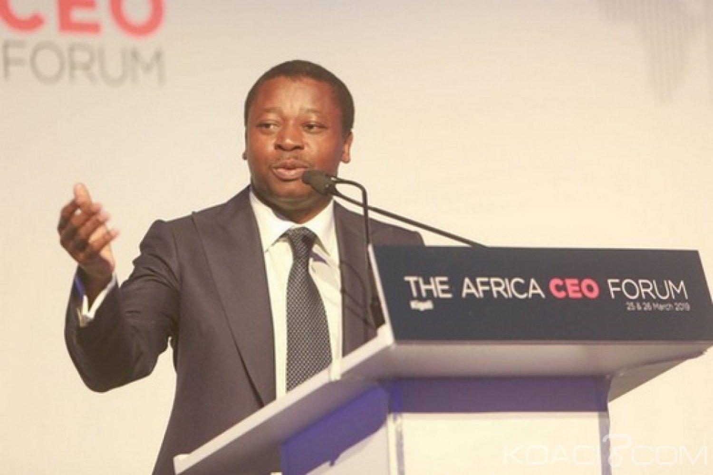 Togo-Rwanda : Africa CEO Forum, le PND brandit, invitation de Faure Gnassingbé aux investisseurs