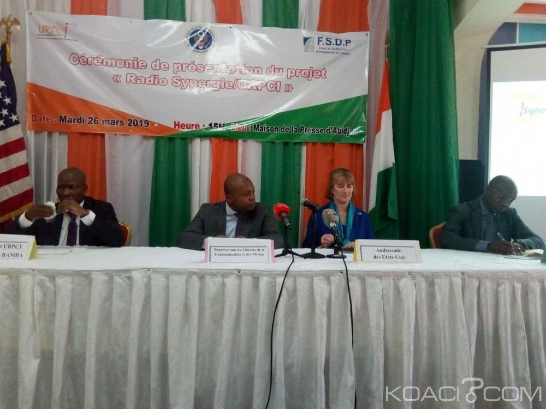 Côte d'ivoire : Abidjan, les Etats Unis en collaboration avec l'URPCI lancent radio synergie