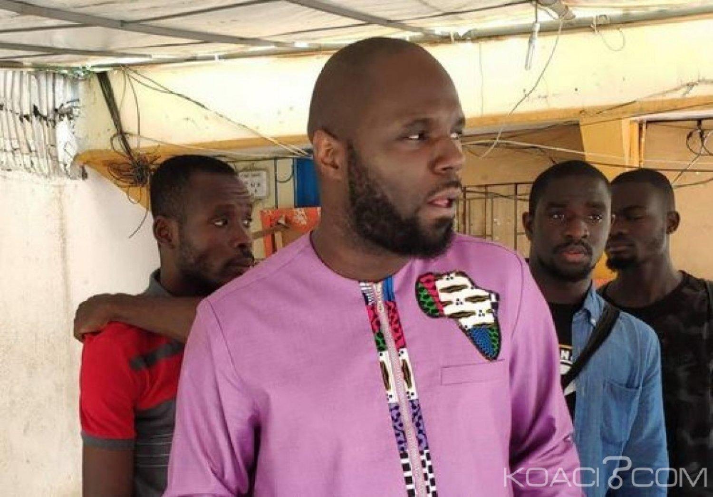 Côte d'Ivoire : L'activiste Kemi Seba qui s'est  rendu de lui-même à la DST, expulsé du pays