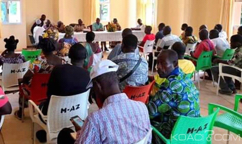Côte d'Ivoire : Azaguié, suite à l'incendie survenu à la morgue,  une réunion de crise, tenue par Mamadou Koulibaly