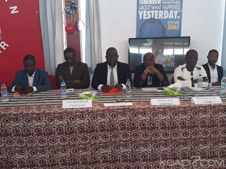 Côte d'Ivoire : Rentrée solennelle du club UNESCO étudiants Ivon KOLO:  «il faut une culture de paix pour que la jeunesse puisse contribuer au développement de son continent»