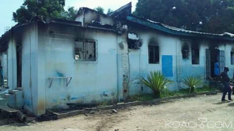 Côte d'Ivoire : À Béoumi suite à l'incendie du district sanitaire, Aka Aouélé: «très rapidement, les choses rentreront dans l'ordre»