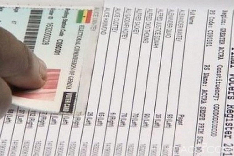 Ghana : Une nouvelle liste électorale à établir pour les élections de 2020