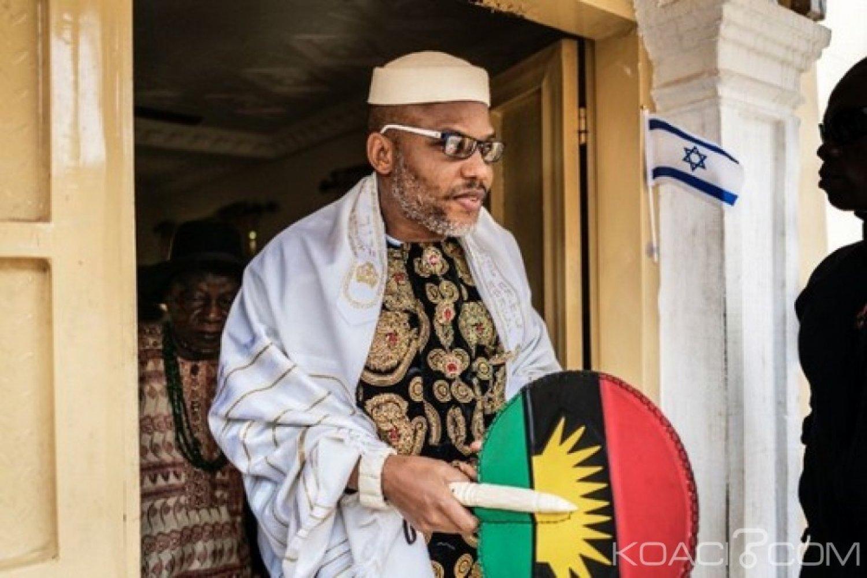Nigeria : Un tribunal ordonne la ré-arrestation de Nnamdi Kanu