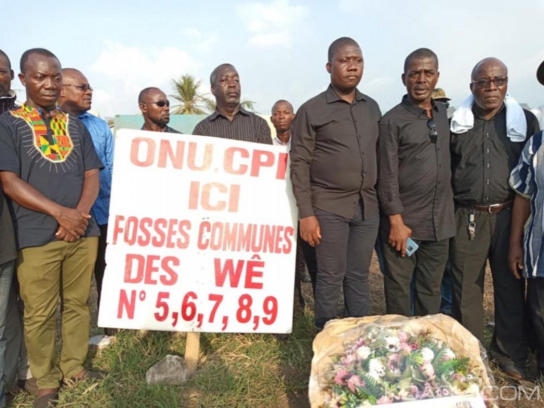 Côte d'Ivoire : Massacres de Duekoué, le FPI sur les fosses communes pour commémorer les tueries