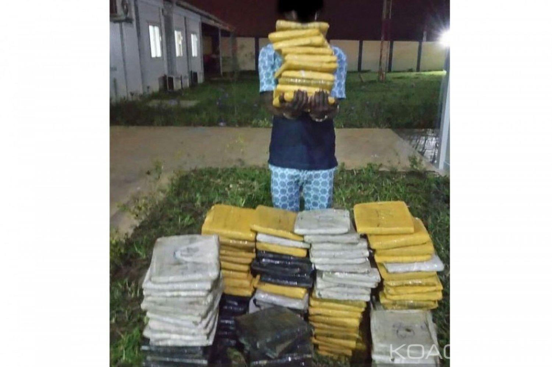 Côte d'Ivoire : A Port-Bouet, deux ressortissants de la sous-région interpellés en possession de 165 kilogrammes de cannabis