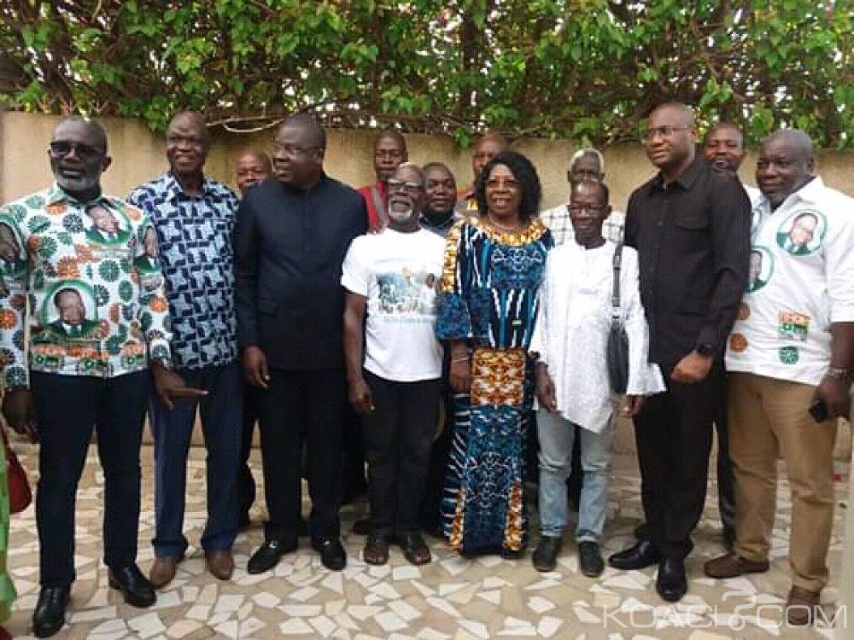Côte d'Ivoire : Chez la Reine du peuple Baoulé, 10 secrétaire de section du PDCI virent au RHDP unifié en présence d'Amédé Kouakou