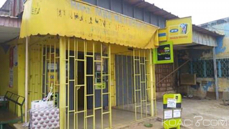 Côte d'Ivoire : À Bouaké, un point de transfert d'argent braqué, environ 2 millions emportés