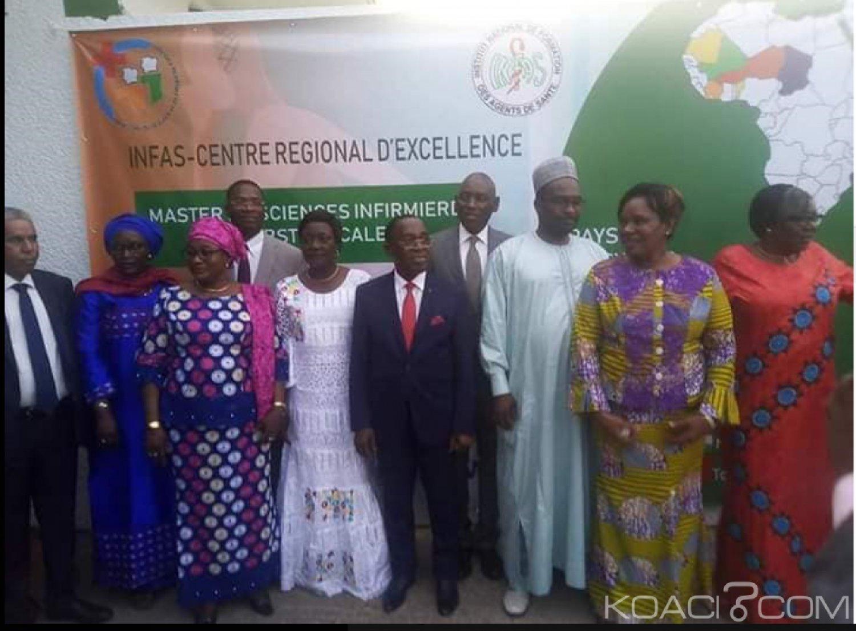 Côte d'Ivoire : INFAS, le Master en Sciences Infirmières et Obstétricales lancé