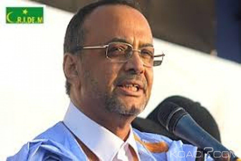 Mauritanie : L'ex- premier ministre Sidi Mohamed Ould Boubacar  se porte candidat à la présidentielle