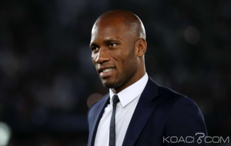 Côte d'Ivoire : Didier Drogba «Je n'ai jamais dit que je veux devenir entraîneur»