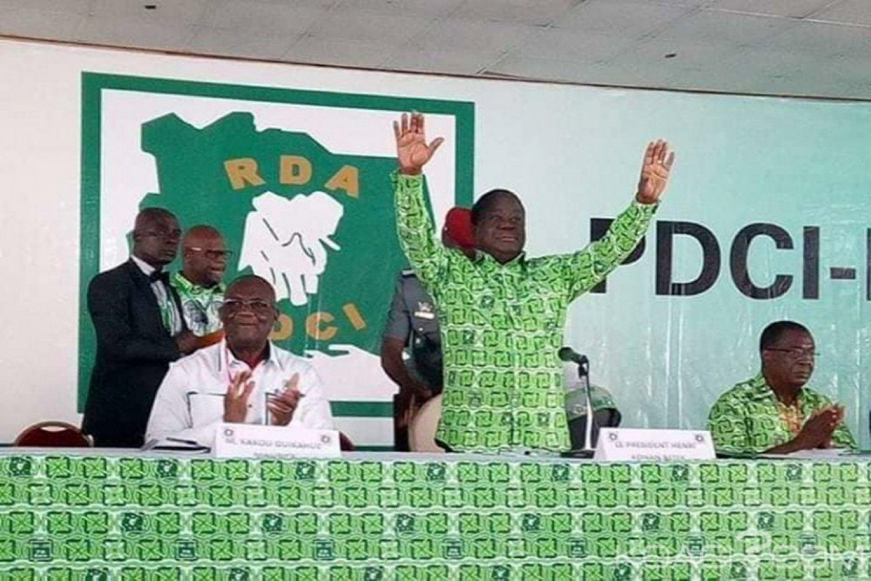 Côte d'Ivoire : PDCI-RDA, Bédié quadrille le territoire national en nommant 333 délégués,  départementaux et communaux