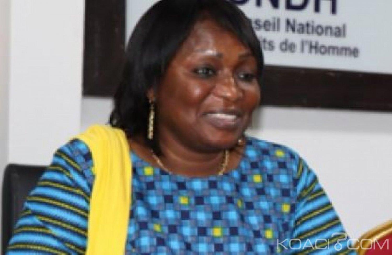 Côte d'Ivoire : Conseil National des Droits de l'Homme, Namizata Sangaré  élue présidente décline  ses priorités