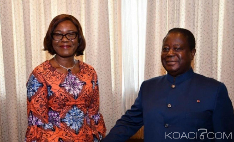 Côte d'Ivoire : La raison de la visite de Mme  Kaba Nialé à  Konan Bédié