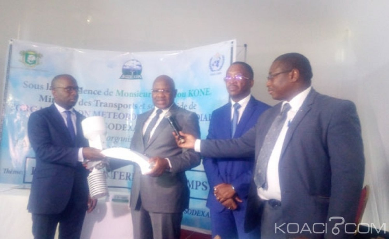 Côte d'Ivoire : En prévision à la saison des pluies, l'ONPC  offre sept postes pluviométriques automatiques à la Sodexam