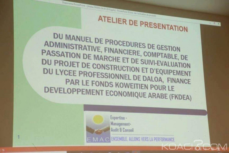 Côte d'Ivoire : Un Lycée Professionnel avec internat va bientôt voir le jour à Daloa