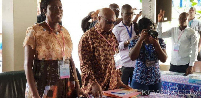 Côte d'Ivoire : 2020, le FPI en séminaire de préparation, Simone Gbagbo « je rêvais de voir une assemblée de responsables efficaces, dignes, compétents pour que le FPI aille de l'avant »