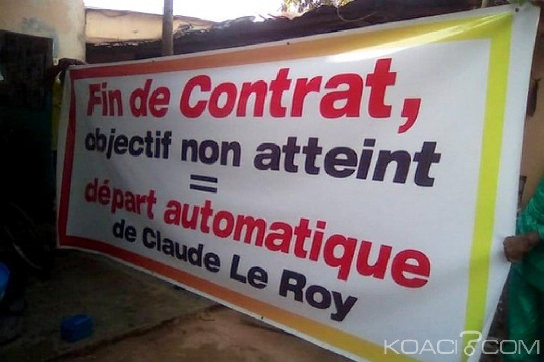 Togo : Le sit-in du MMLK contre Claude Le Roy dispersé