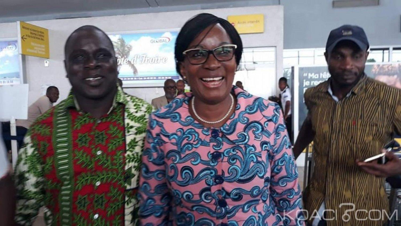 Côte d'ivoire : Agnès Monnet à Abidjan après sa rencontre avec Gbagbo à Bruxelles, la mission qui lui a été confiée