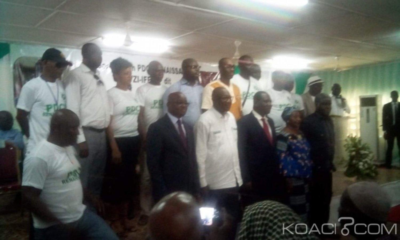 Côte d'Ivoire : Depuis Dimbokro, malgré son exclusion temporaire du PDCI, Ahoua N'Doli «Nous sommes PDCI et demeurons PDCI, mais restons attachés au RHDP»