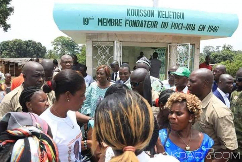 Côte d'Ivoire: À Facobly, le maire Guei Monin investi, la délégation RHDP s'incline sur la tombe du 19è membre fondateur du PDCI