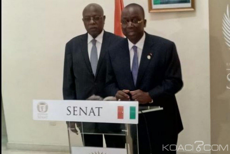 Côte d'Ivoire : Aux côtés des 33 sénateurs nommés, Ahoussou révèle «Moi, je n'appartiens à aucun groupe parlementaire»