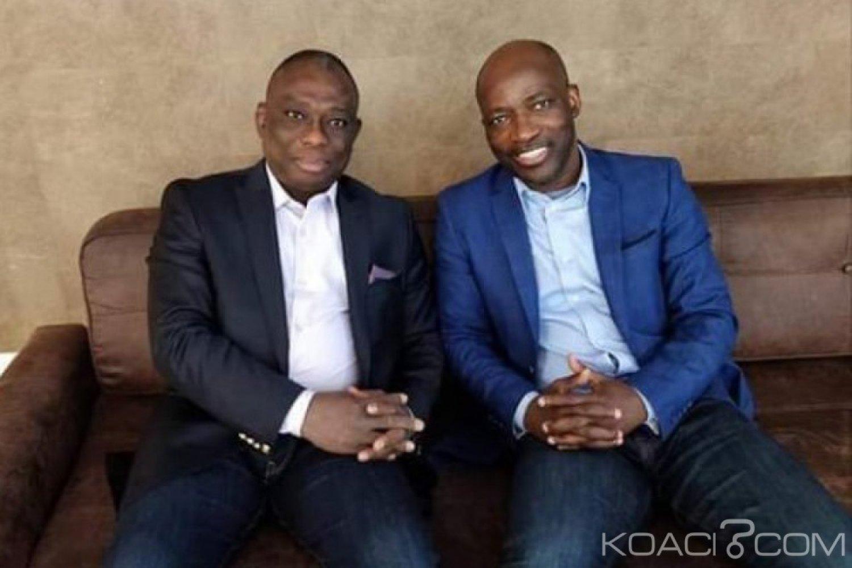 Côte d'Ivoire : KKB se réjouit avec Blé Goudé à la Haye