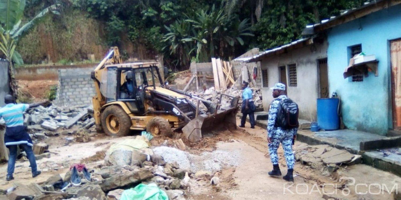 Côte d'Ivoire : En prélude aux pluies diluviennes, les populations de Yopougon Andokoi déguerpies, crient à «l'injustice»