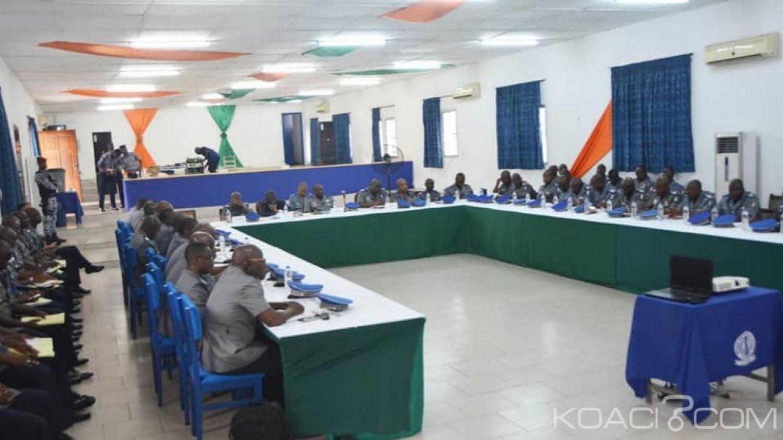 Côte d'Ivoire : Gendarmerie, les commandants de compagnie et  d'escadron instruits sur plusieurs questions