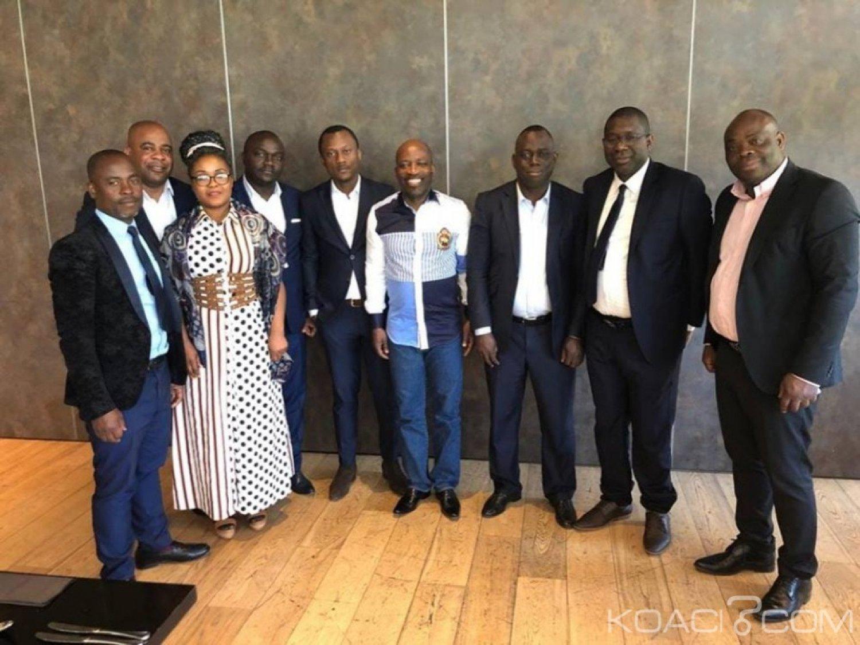Côte d'Ivoire : Devant une délégation de l'UNG à la Haye, Blé Goudé rappelle son engagement pour l'éclatement de la vérité quant à la situation de crise