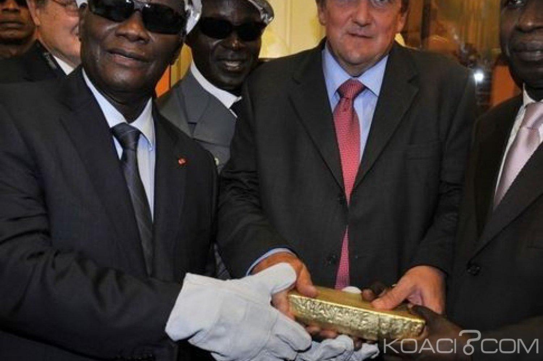 Côte d'Ivoire : Malgré une baisse de production d'or, le secteur minier a généré un chiffre d'affaire de 582,3 milliards FCFA, + 8,02% par rapport à 2017