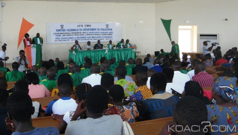 Côte d'Ivoire:  L'excellence au centre de la rentrée solennelle du Département de Philosophie