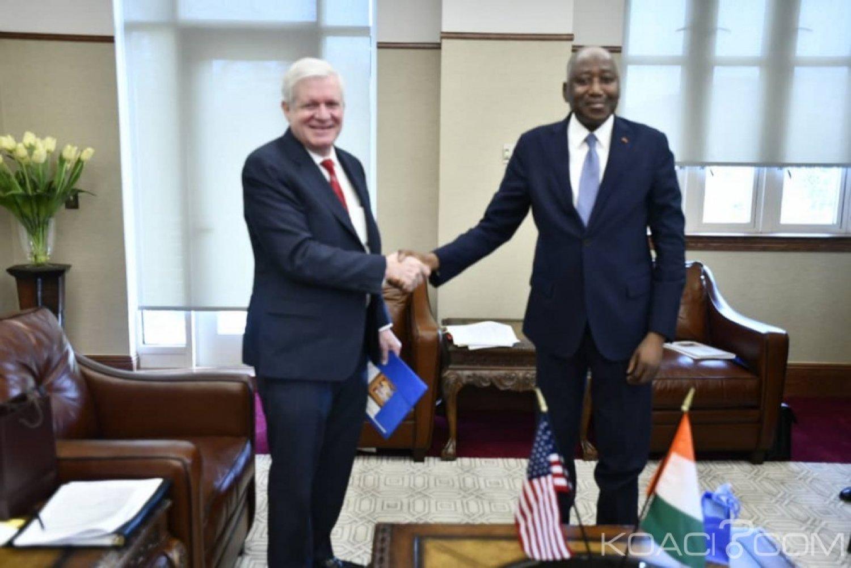 Côte d'Ivoire : Le secteur privé américain est intéressé à investir dans l'agro-industrie, le transport, l'énergie...